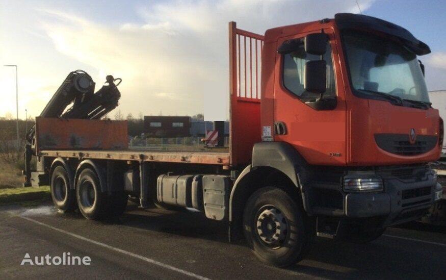 RENAULT KERAX 370 DXI camión plataforma