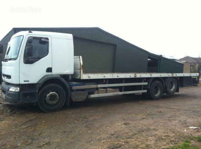 RENAULT PREMIUM 320 DCI camión plataforma