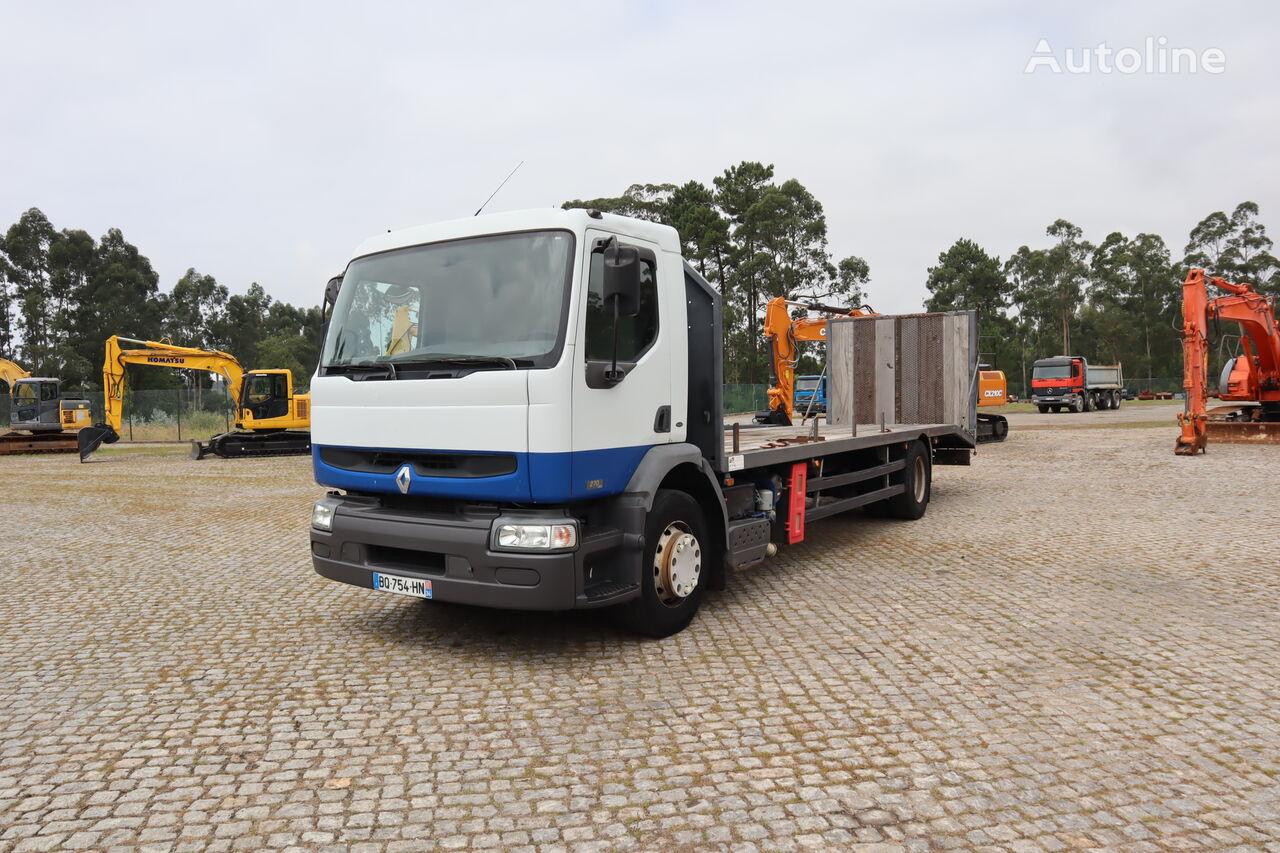 RENAULT Premium 270dCi camión plataforma