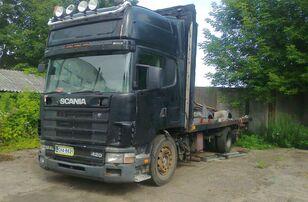 SCANIA 124 camión plataforma