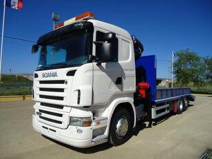 SCANIA R 440 camión portacoches