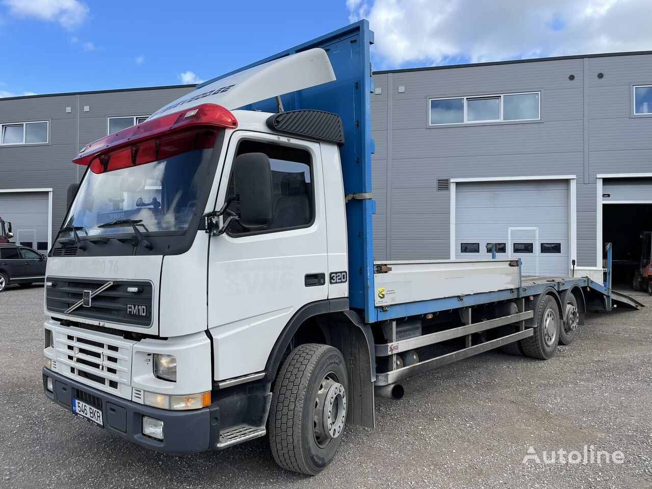 VOLVO FM10 320Hp, Winch camión portacoches