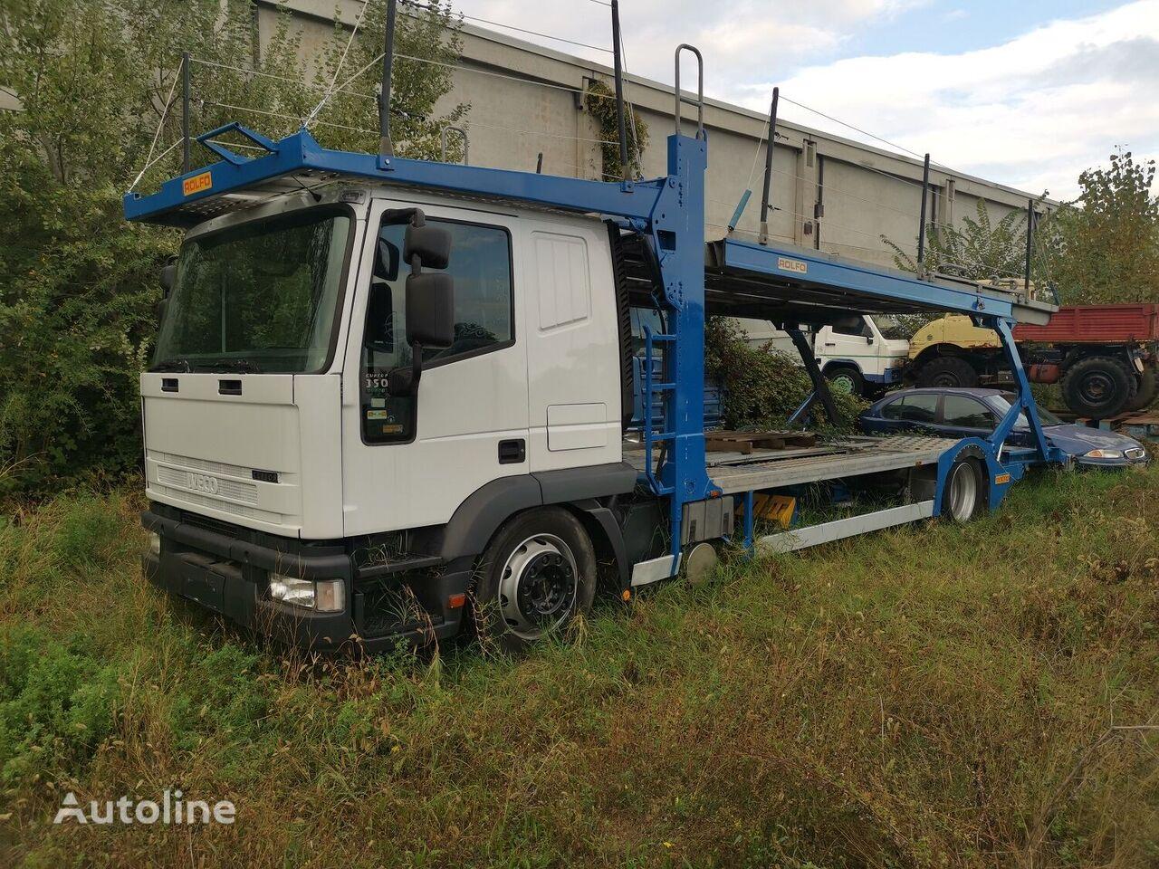 IVECO Euro 5 camión portacoches