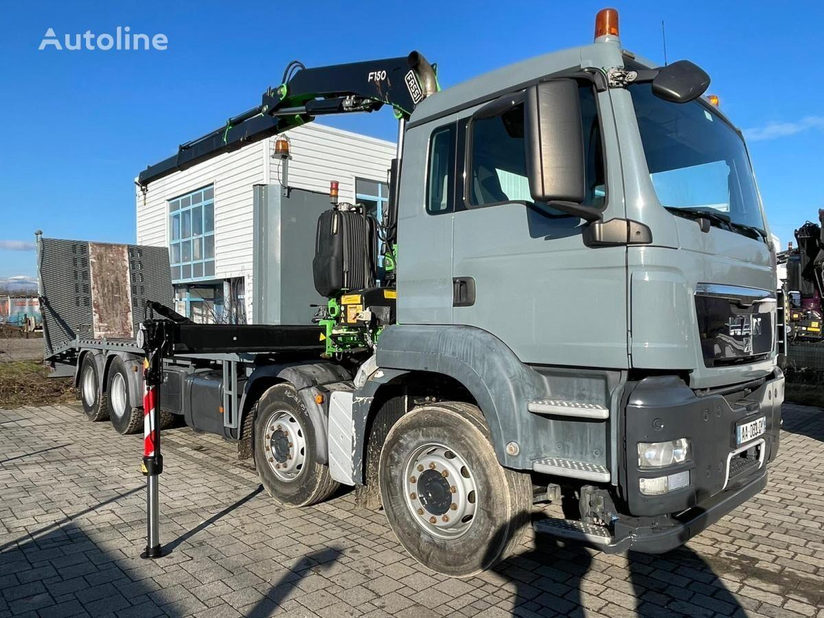 MAN TGS 35.360 camión portacoches