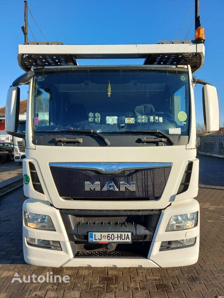 MAN TGS 460 6X2 camión portacoches