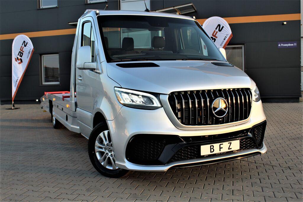 MERCEDES-BENZ Autotransporter Sprinter AMG 319 V6 BFZ PLATEAU® *NAVI*XENON* camión portacoches nuevo