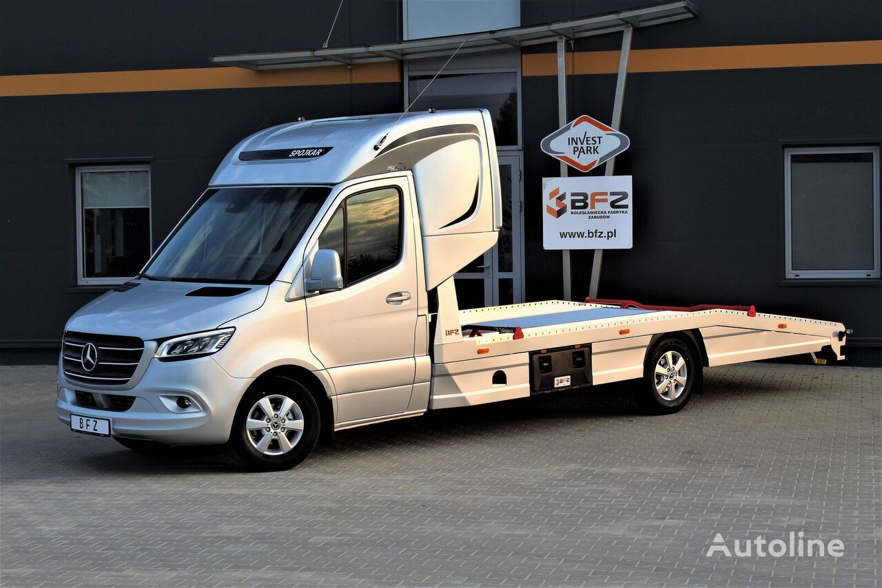 MERCEDES-BENZ Mercedes-Benz Sprinter 319 V6 LUFTFEDERUNG AB WERK Schlafkabine  camión portacoches nuevo