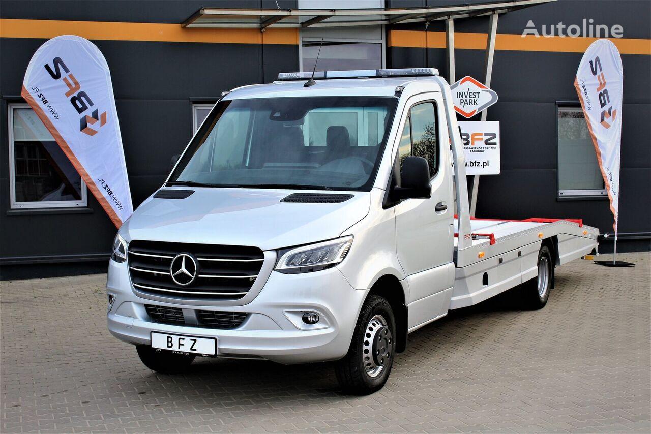 MERCEDES-BENZ Sprinter 519 V6  NAVI LED LUFTFEDERUNG NEU MODEL 907  camión portacoches nuevo