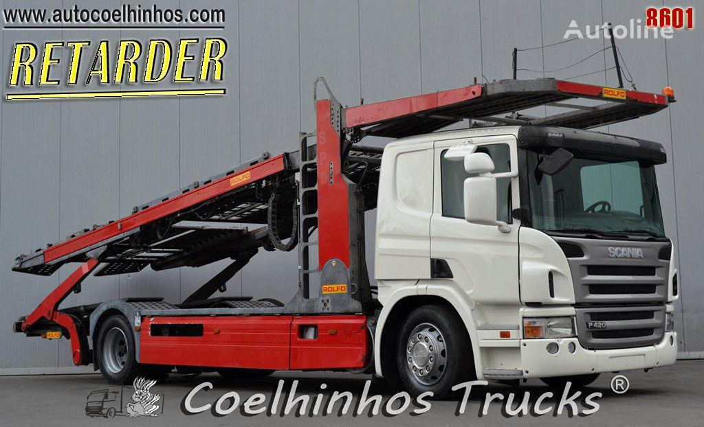 SCANIA P 420 camión portacoches