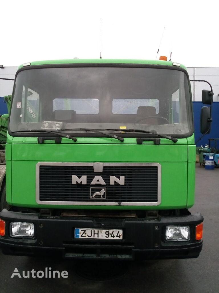 MAN 18.222 camión portacontenedores