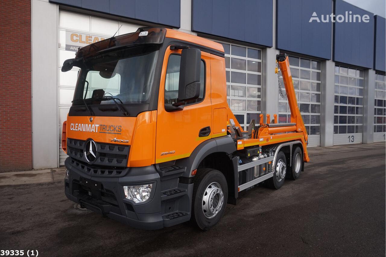 MERCEDES-BENZ Arocs 2540 camión portacontenedores nuevo