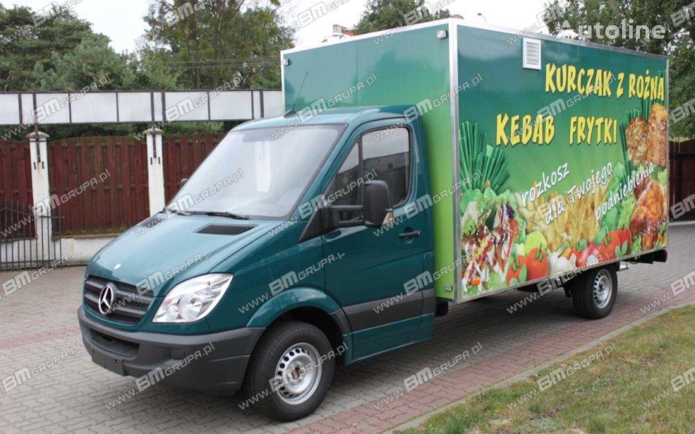 BMgrupa Food Truck, Imbissmobile, zabudowa na pojeździe, przeróbki pojaz camión tienda nuevo