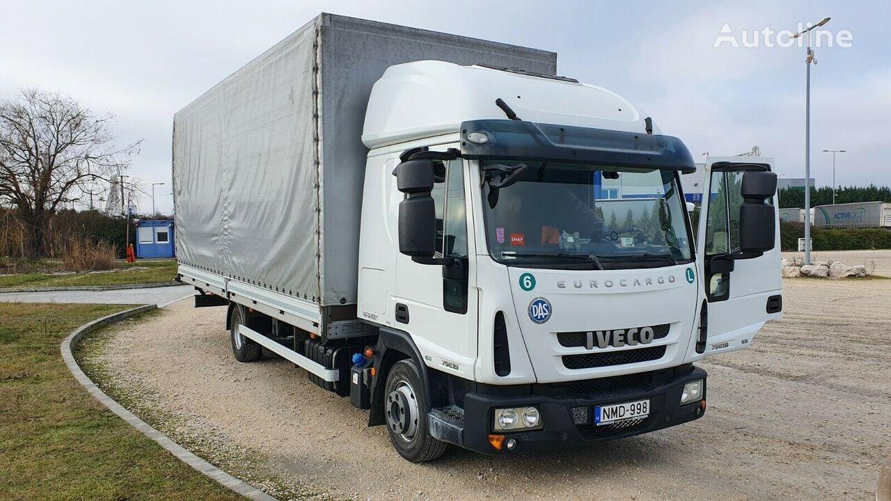 IVECO Eurocargo 75 E 19 camión toldo