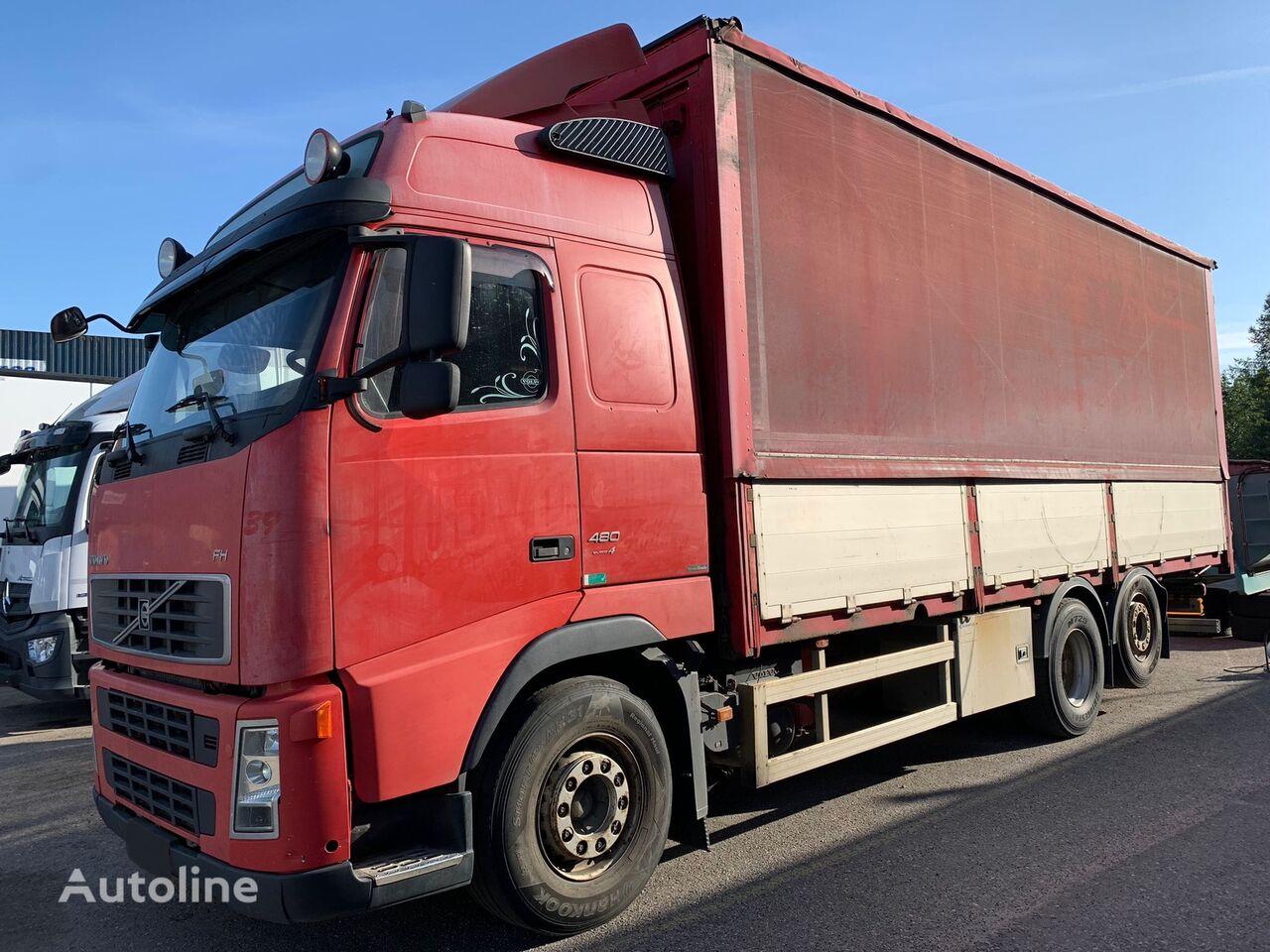 VOLVO FH13 480HP Hidraulic roof camión toldo