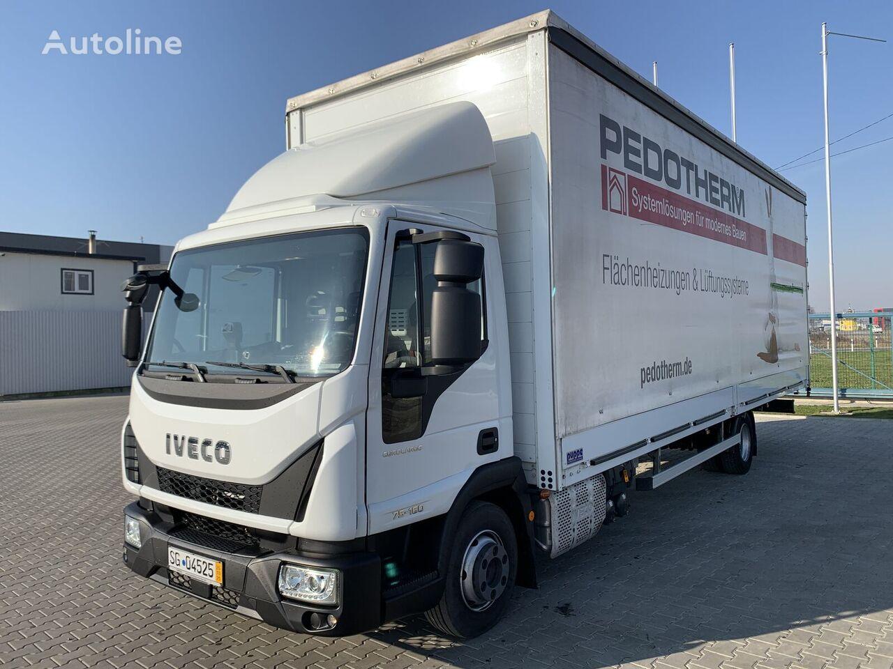 IVECO Eurocargo 75E160 camión toldo