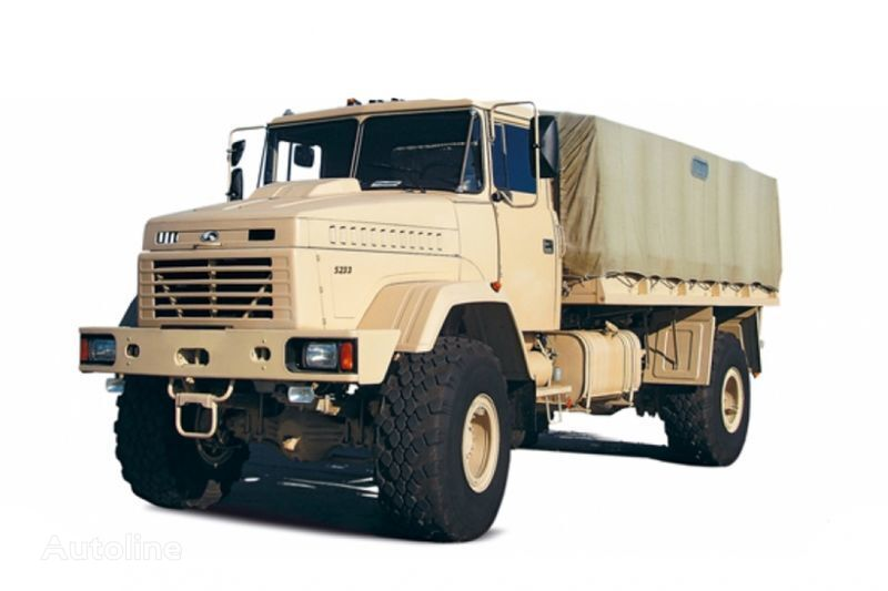 KRAZ 5233VE camión toldo