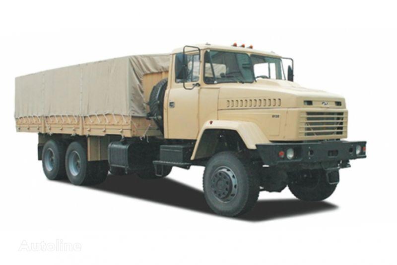 KRAZ 6135V6 camión toldo