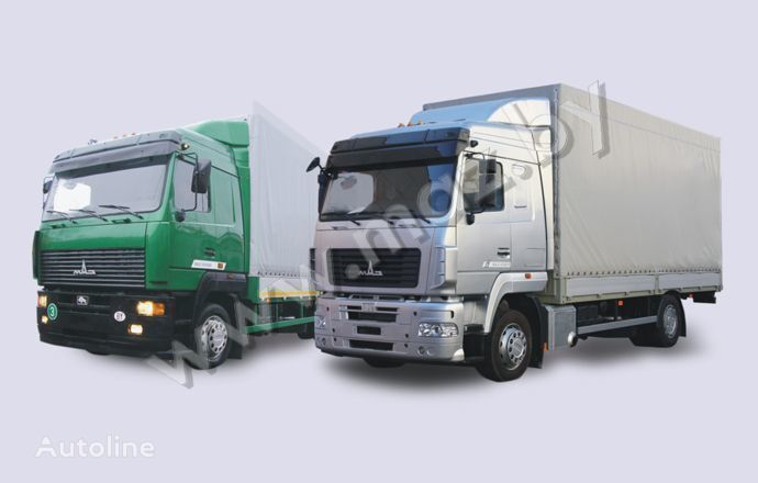 MAZ 5340 (19, E9) camión toldo