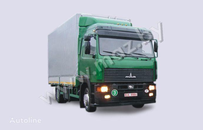 MAZ 5340A8 camión toldo