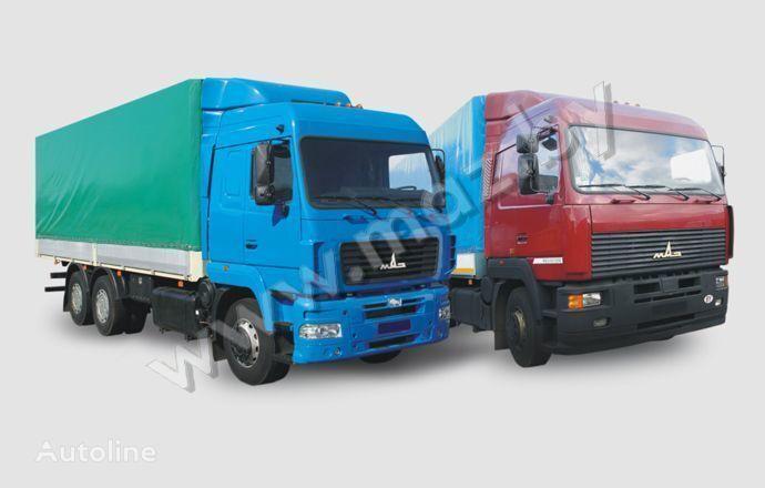 MAZ 6312 (A5, A8, A9) camión toldo