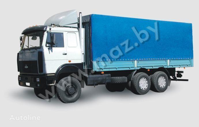 MAZ 6317 (05, 08) Polnoprivodnyy camión toldo