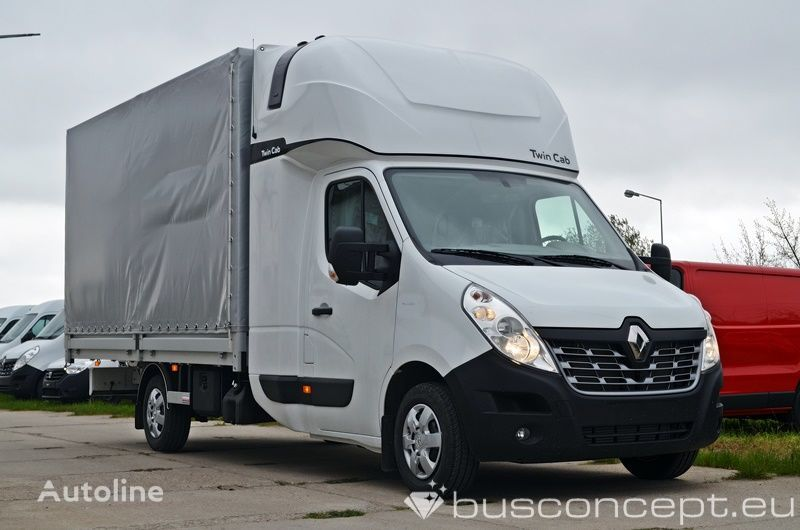 camión toldo RENAULT Master 8EP - Twin Cab ( Fridge & Table)) nuevo