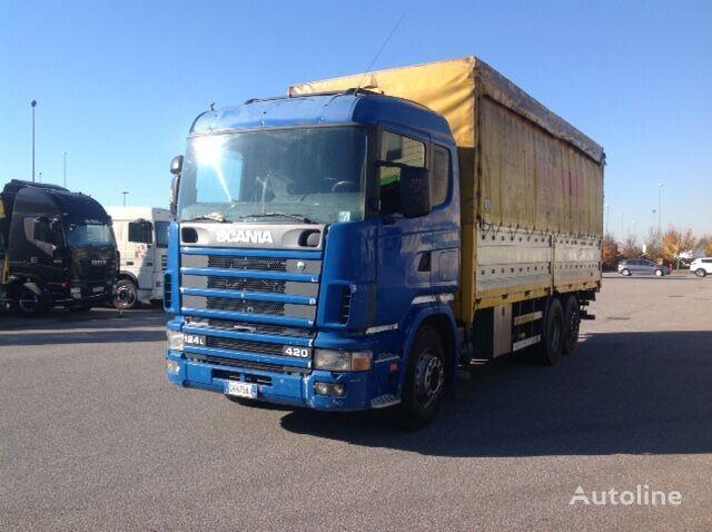 SCANIA 124 L 420 CV camión toldo