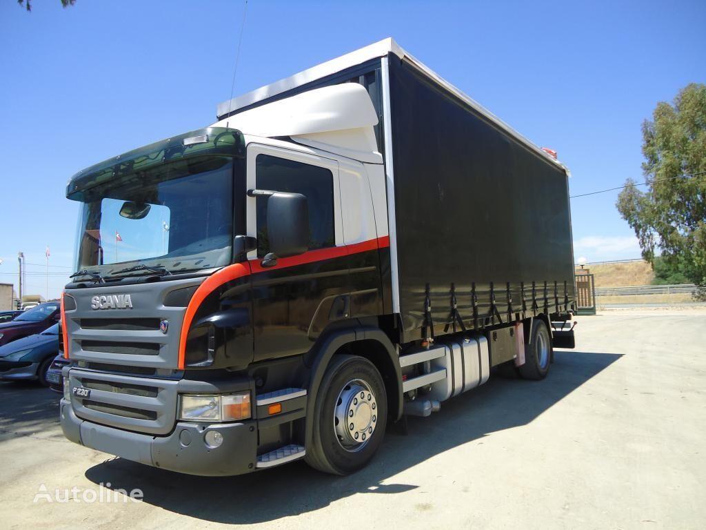 SCANIA P 230 camión toldo