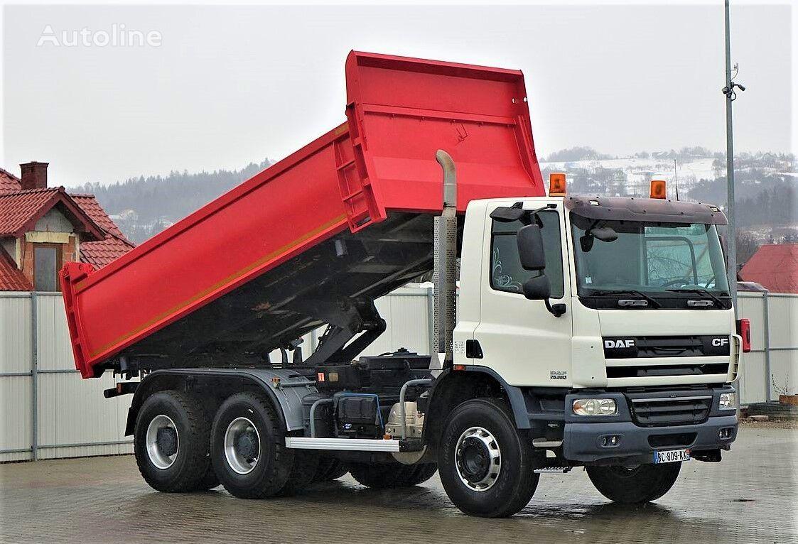 DAF CF 75.360 Kipper+Bordmatic 5,20m Top Zustand! camión volquete