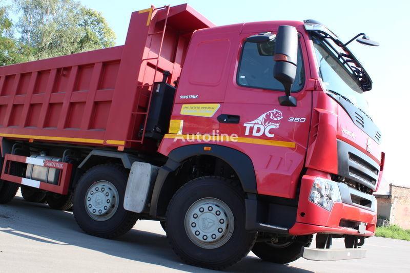 HOWO A7 camión volquete nuevo