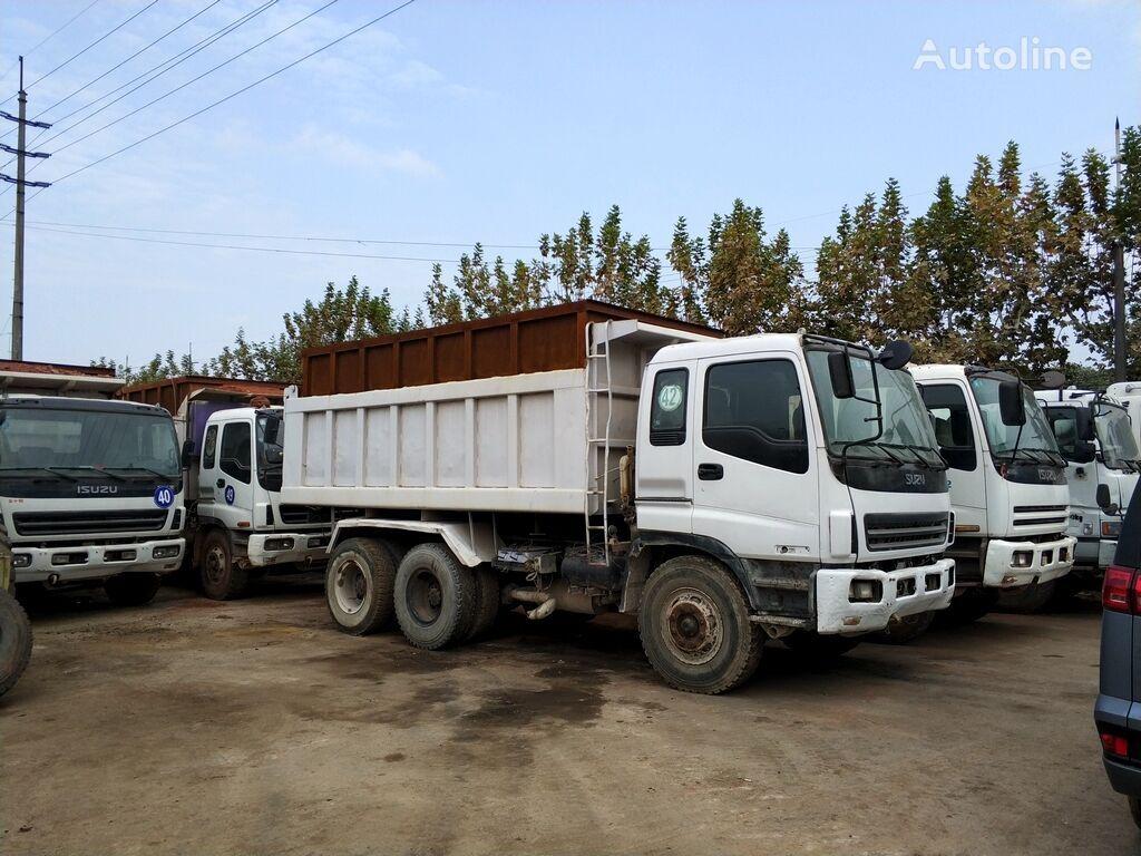 ISUZU camión volquete