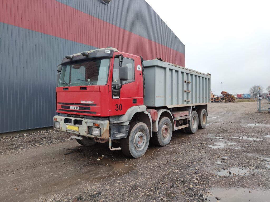 IVECO 410E42, 8x4 camión volquete