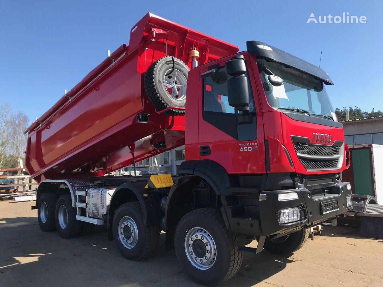IVECO AD410T45 Trakker 8x8 - 450KM  camión volquete