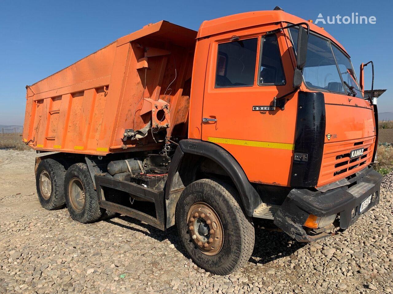 KAMAZ 65115 camión volquete