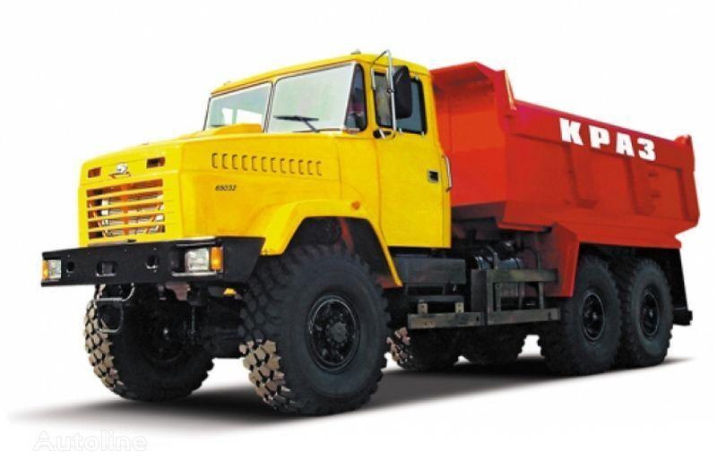 KRAZ 65032 tip 4  camión volquete