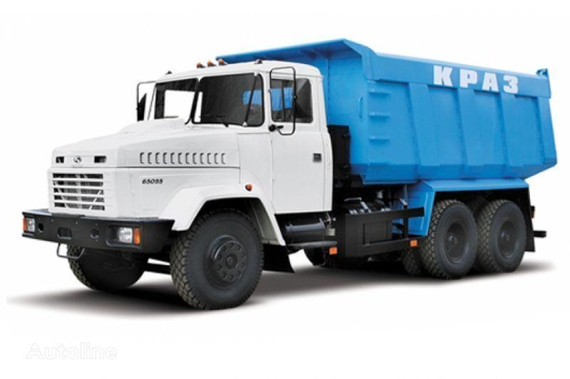 KRAZ 65055 tip 3  camión volquete