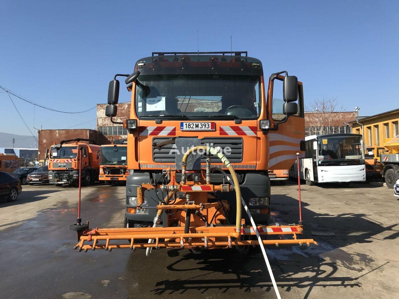 camión volquete MAN TGA 28.360 6x4-4 BL