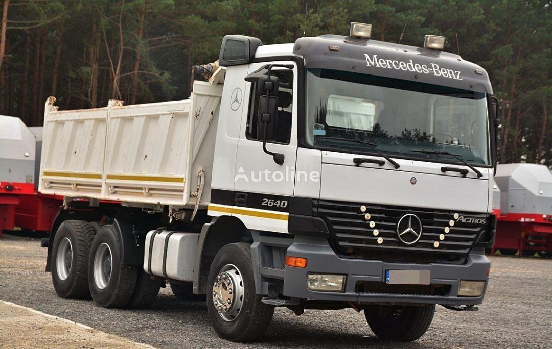MERCEDES-BENZ ACTROS 2640  camión volquete