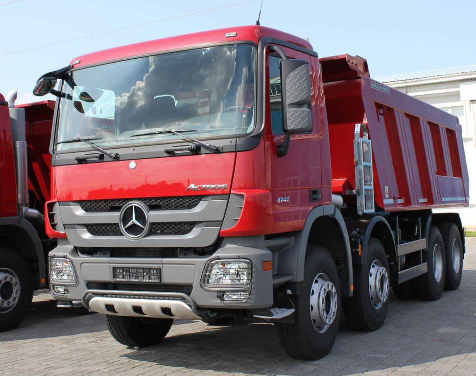 Nuevo Actros 2018 >> Venta de camión volquete MERCEDES-BENZ Actros 4141 K nuevo, volquete, camion basculante de ...