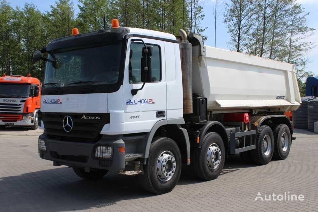 MERCEDES-BENZ Actros 4141K 8x4 camión volquete