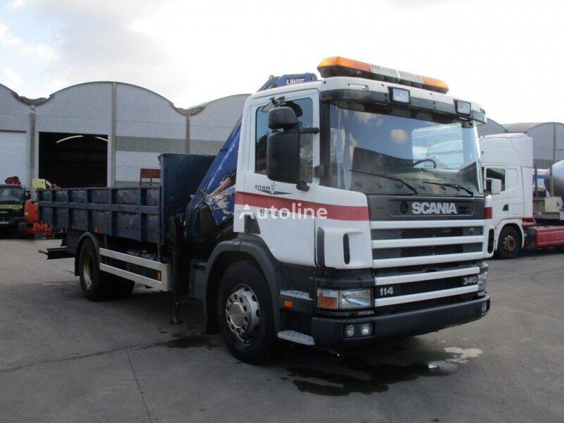 SCANIA 114 camión volquete