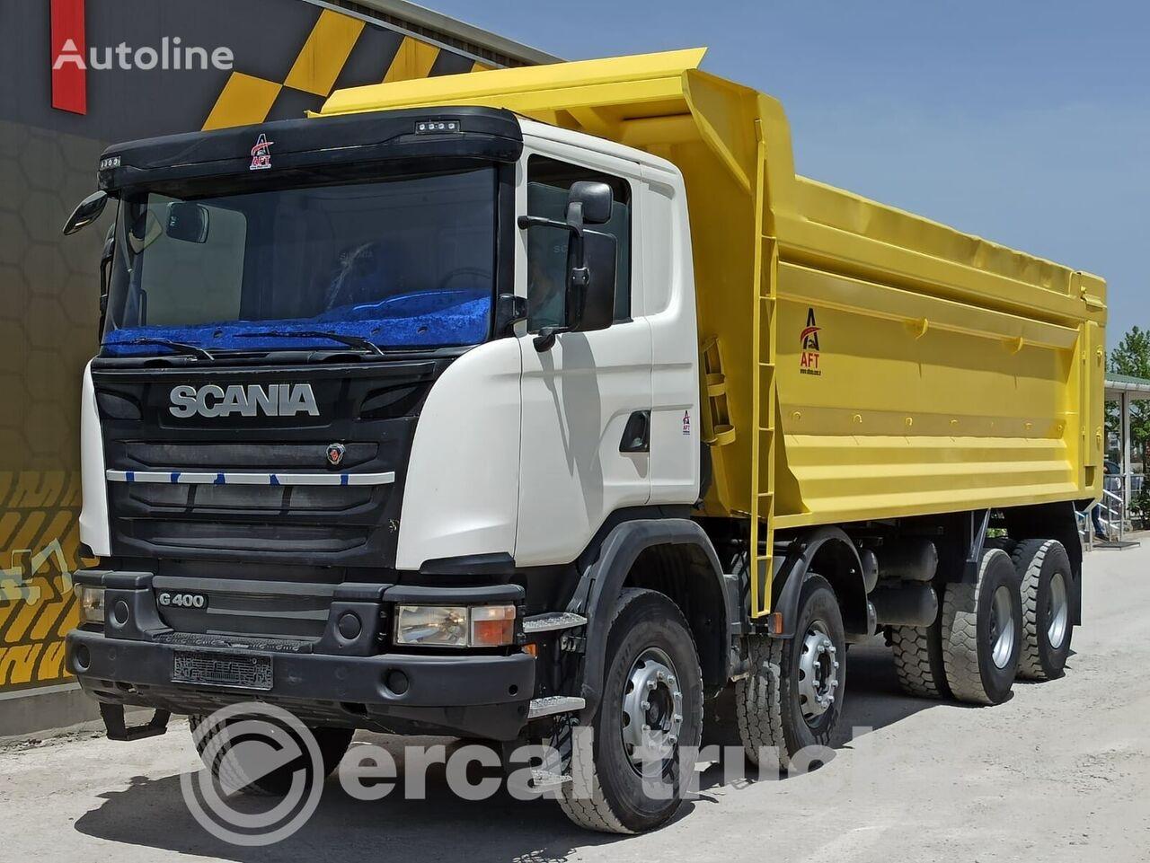 SCANIA 2015 G 400 AC E5 8X4 HARDOX TIPPER  camión volquete