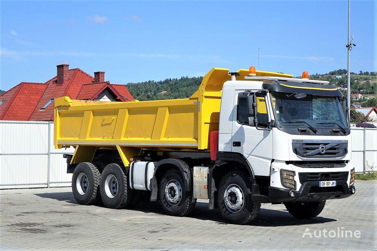 VOLVO FMX 450 Kipper 6,10 * 8x4 Topzustand camión volquete