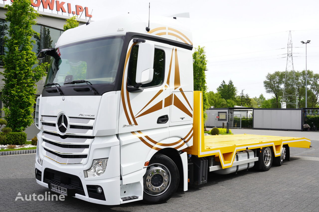MERCEDES-BENZ Actros 2542 , E6 , 6x2 , NEW BODY 8,3m , Steer axle , Winch ,rem grúa portacoches