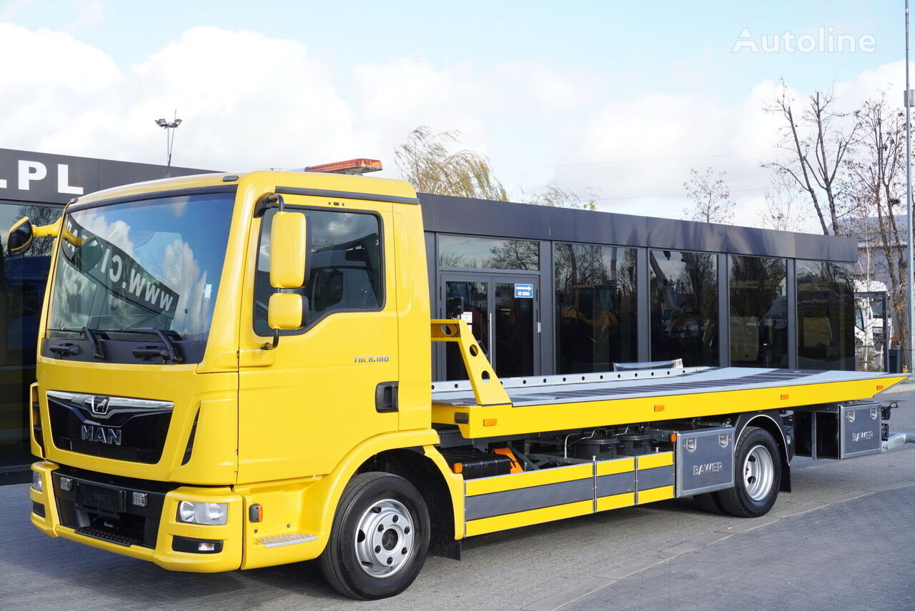 MAN TGL 8.180 , E6 , 70k km , NEW ASSISTANCE BODY 2020 , hydraulic , grúa portacoches