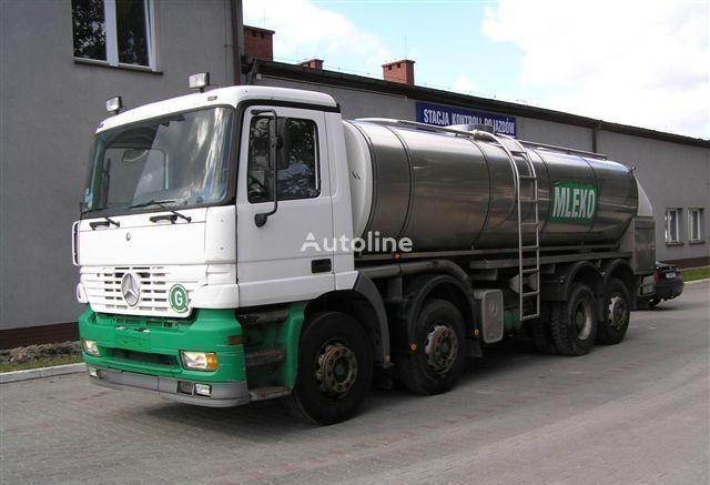 MERCEDES-BENZ ACTROS 3340  transporte de leche