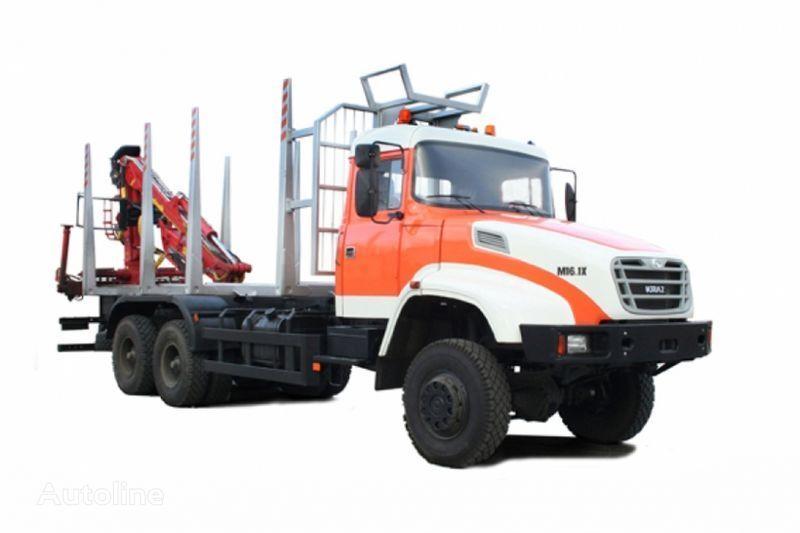 KRAZ M16.1H transporte de madera