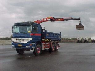 MERCEDES-BENZ 3335 AK Actros - 6x6 Crane HMF 1463 volquete