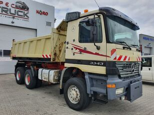 MERCEDES-BENZ Actros 3343, Tipper 6x6,full Steel, EPS manual with cluth volquete