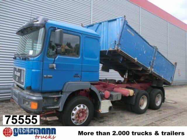 MAN T39 / 26.403 / Standheizung/Sitzhzg volquete